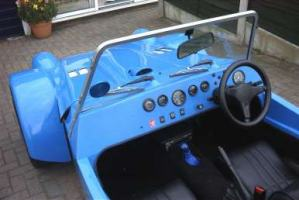 The dashboard of my Eagle P21 Kit Car