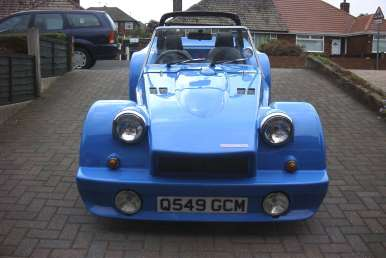 View of the front of my Eagle P21 Kit Car