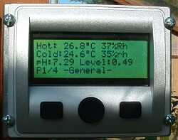 My automation in the greenhouse for this season – 2007