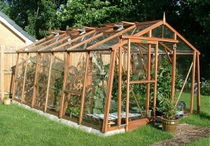 Our new Cedar Alton Greenhouse – 2007