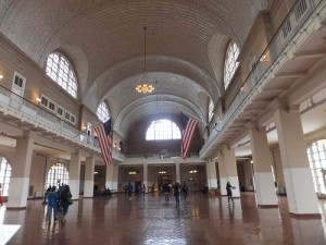 Ellis Island Arrivals Hall