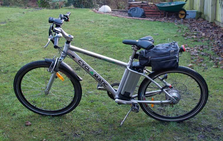 The Cyclamatic Power Plus electric bike