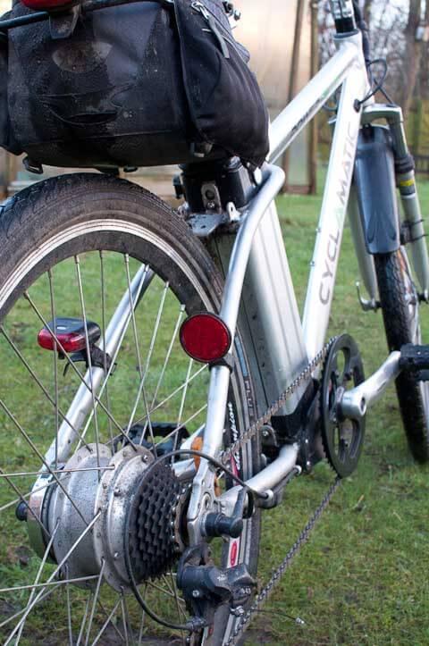 The Rear Wheel Motor of My Cyclamatic Ebike