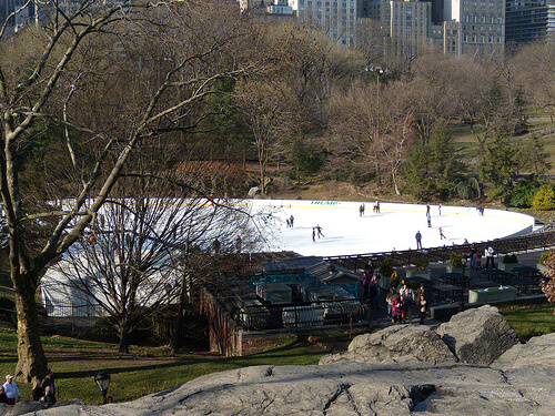 Central Park Ice Rink in New York