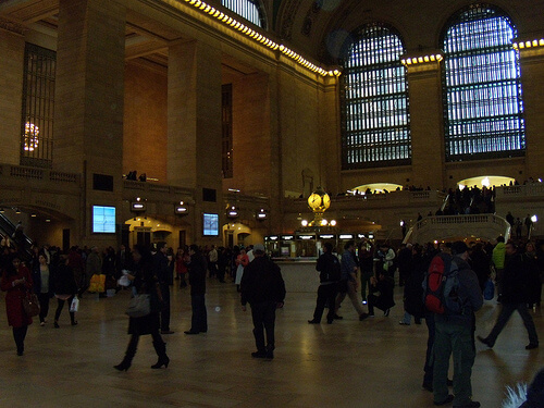 Inside Grand central Station New York