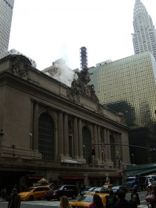 Outside Grand Central Station